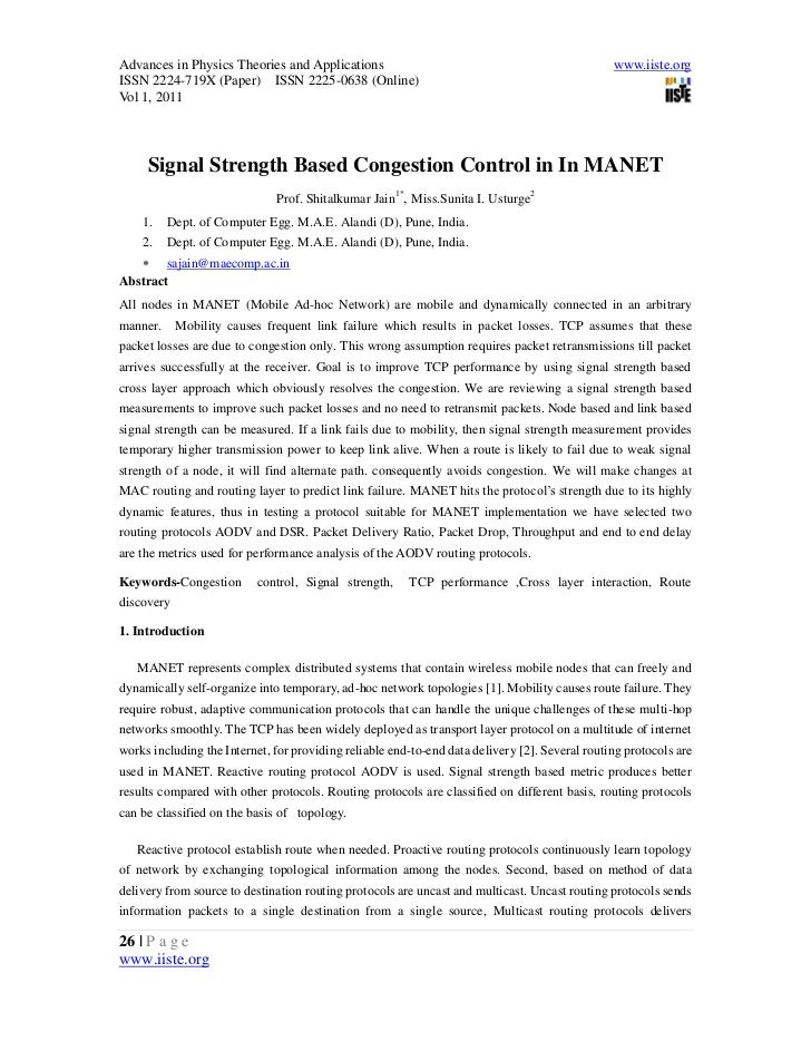 4..[26 36]signal strength based congestion control in manet