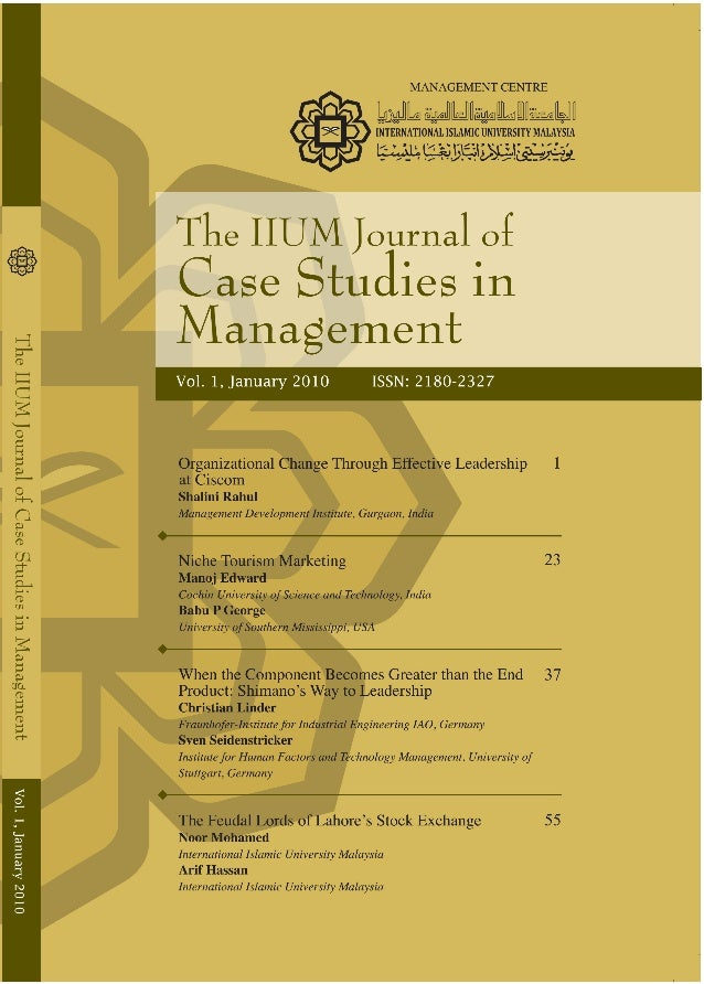 journal of business case studies issn