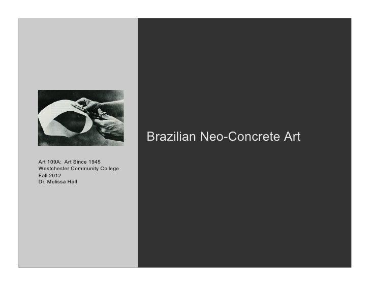 4 3 neo concrete for Minimal art slideshare