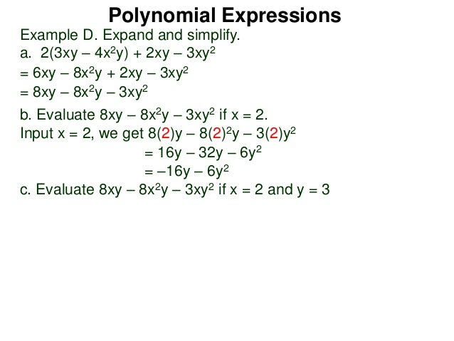 polynomial expressions Sometimes you can use grouping to factor a third degree polynomial y 3 4 3 write the expression as the sum of two cubes (y 4)( y 2 4y 16) use the rule to factor.