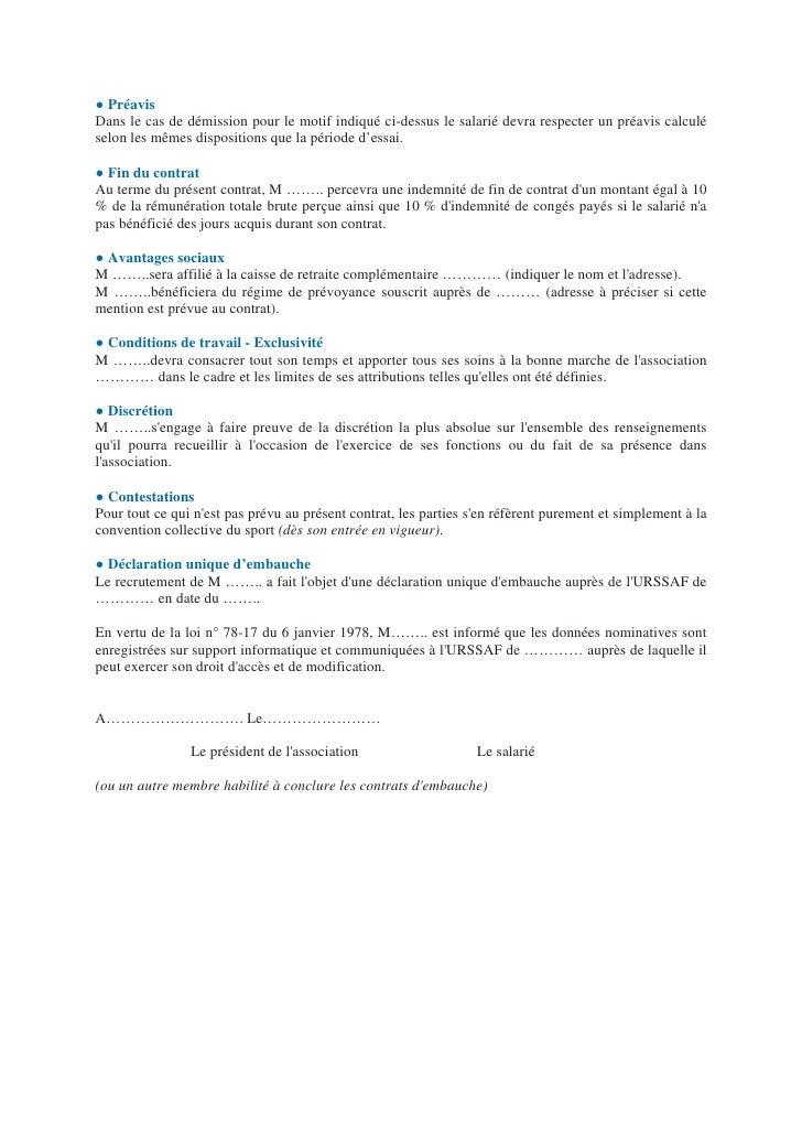 Exemple Lettre Fin De Periode D Essai