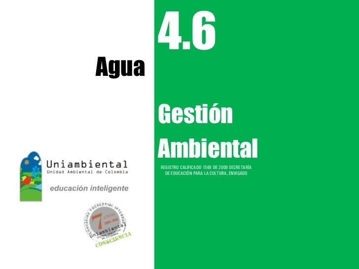 4.6 Agua ga