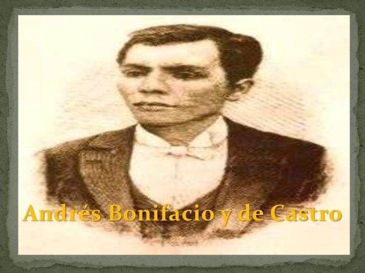 Andrés Bonifacio y de Castro
