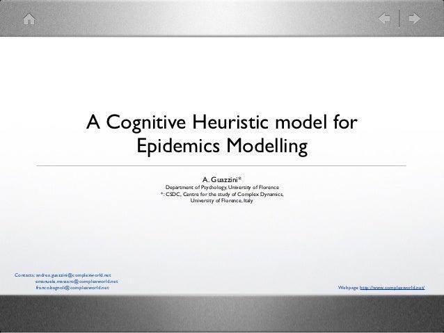 4 a cognitive heuristic model of epidemics