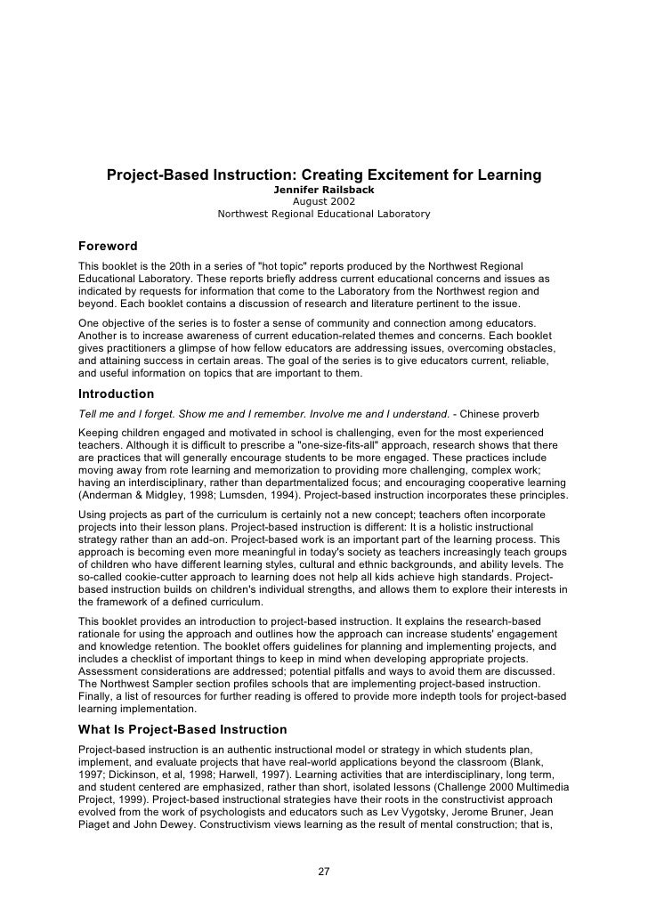 Active Research in the Primary Classroom - Active Learning & Task Design?