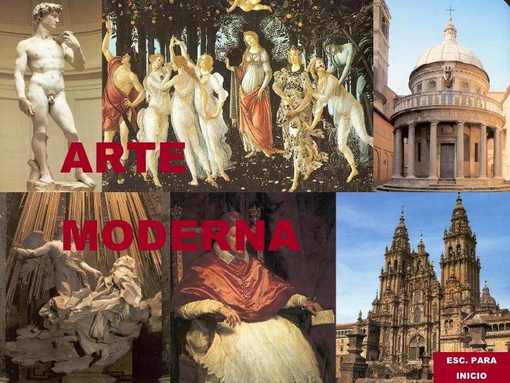 Arte moderna (Francisco A. Pérez Otero)