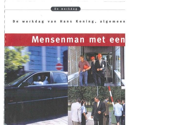 4. Artikel mensenman met een missie - Hans Koning - 2000