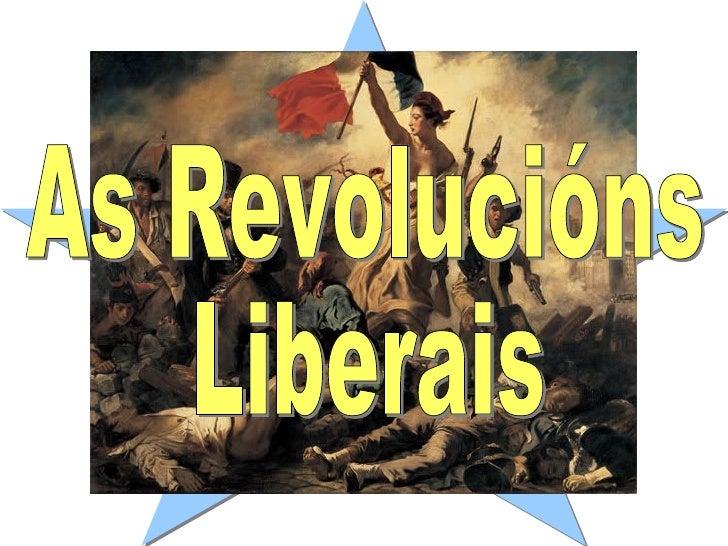 As Revolucións Liberais