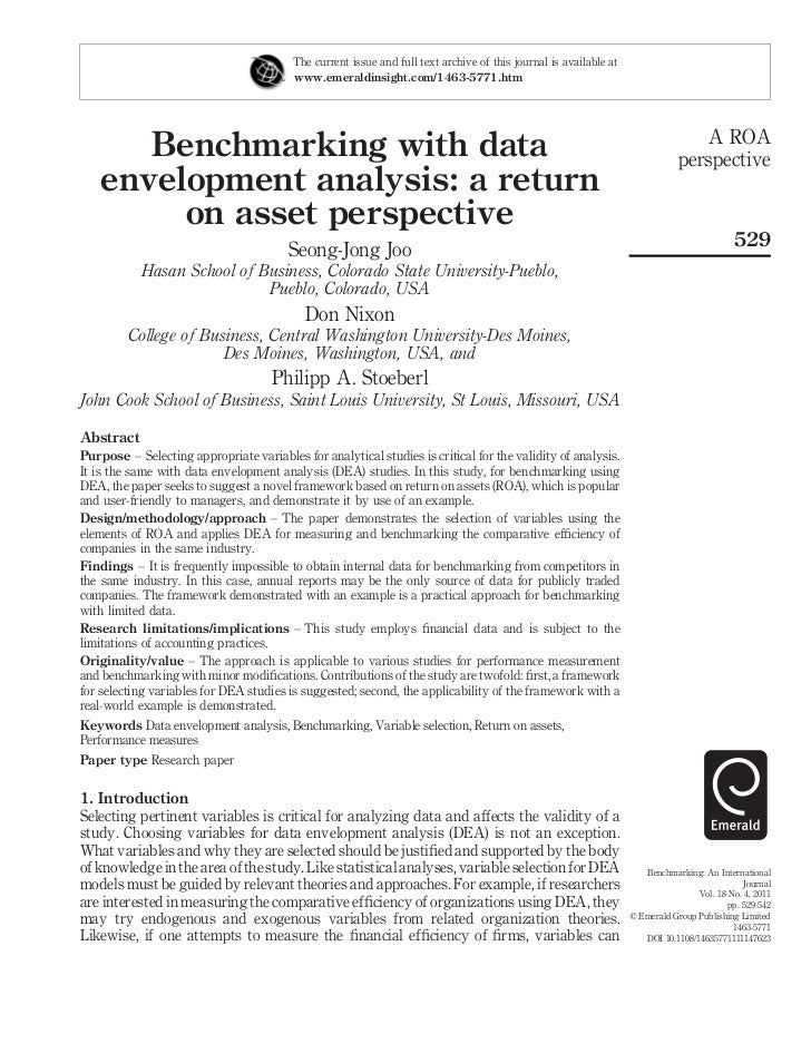 4.benchmarking with
