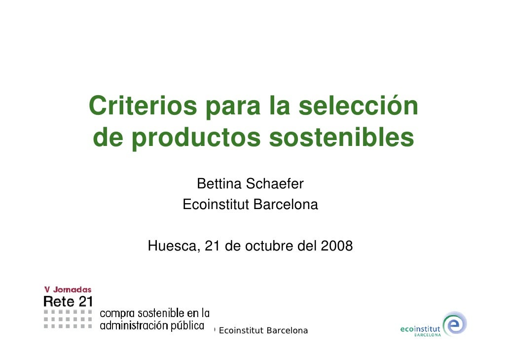 V Jornadas Rete21. Ponencia Bettina Schaefer