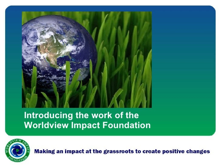 Making an impact at the grassroots to create positive changes.