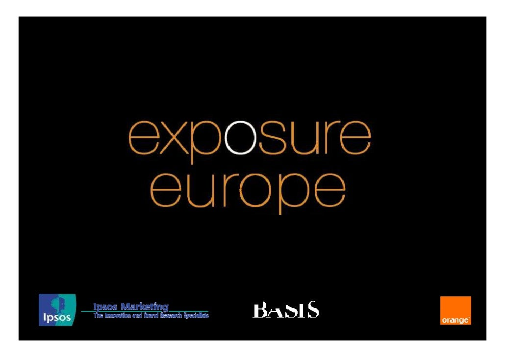 exposure objectives                      Ad perception                           &                      opportunities     ...