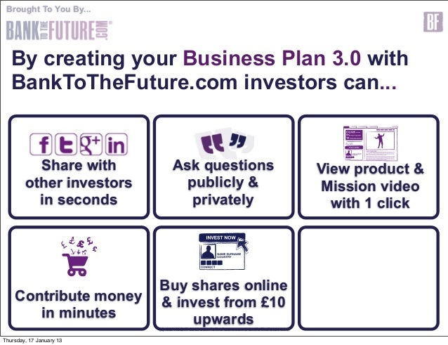 Business plan and investors