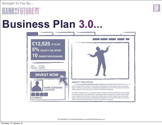 business plan for investors template