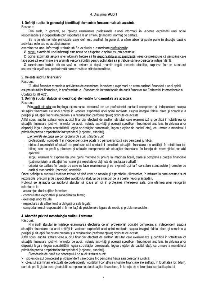 4.ceccar 2011 audit rezolvate