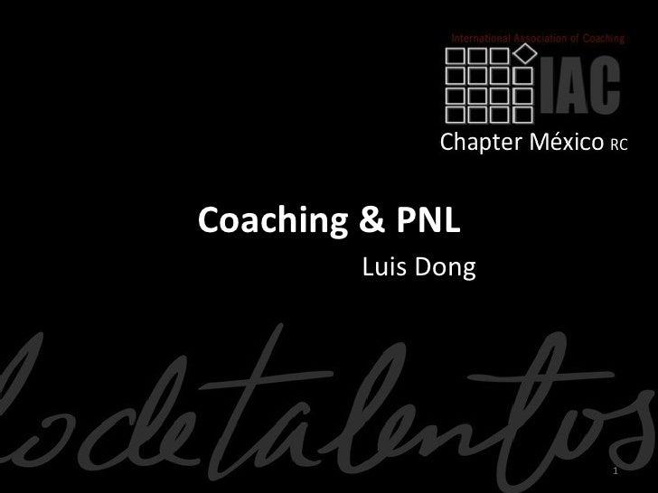 Coaching & PNL        Luis Dong                    1