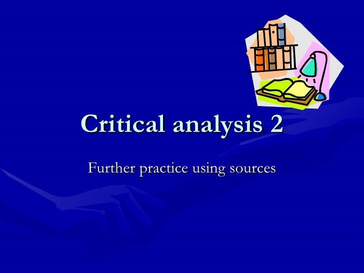 4 Critical Analysis (2)