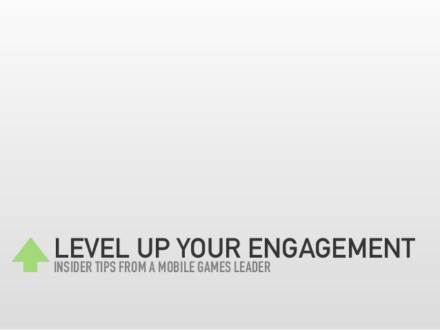 GROWtalks - Level Up your Engagement - Insider tips from a mobile games leader - Derek Yip