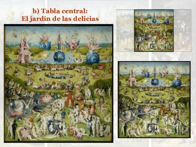 Estudio de el jard n de las delicias de el bosco for El jardin de las delicias benavente