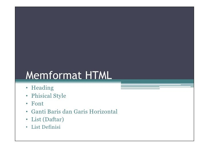 4.format html (ok)