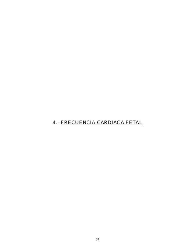 frecuencia cardiaca fetal