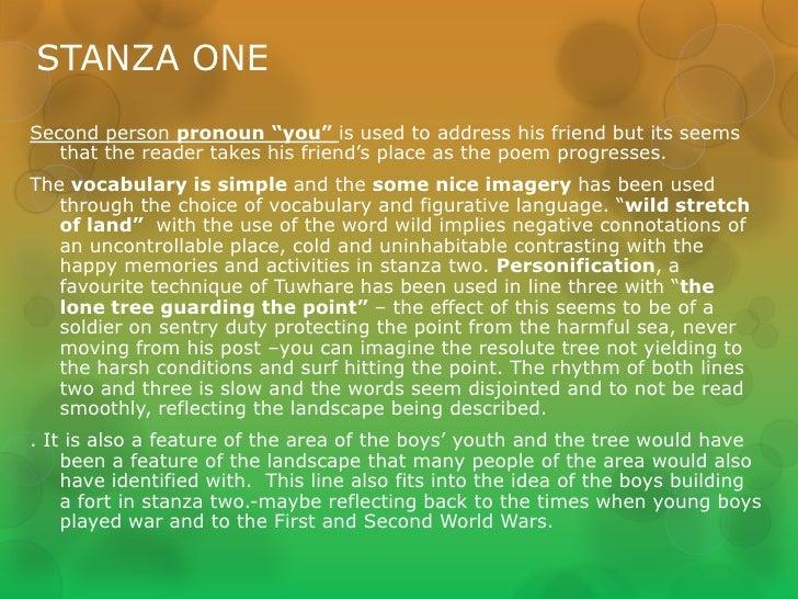 Friend hone tuwhare essay about myself