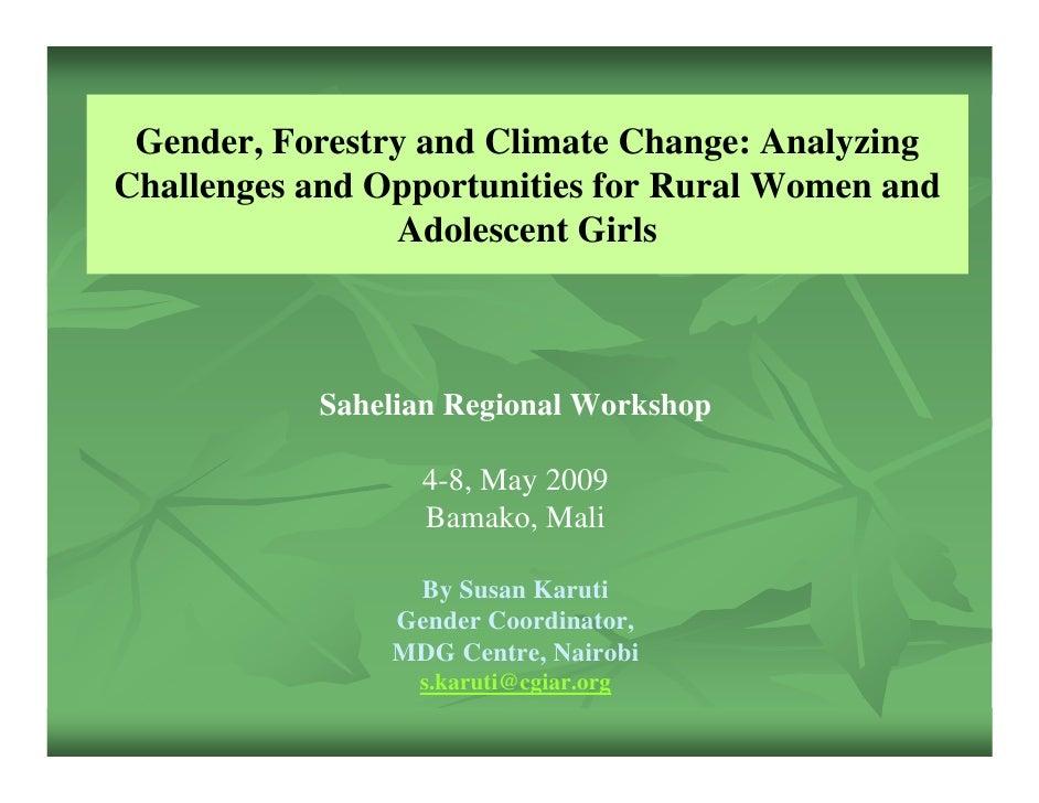 Susan Karuti: Gender, Forestry and Climate Change