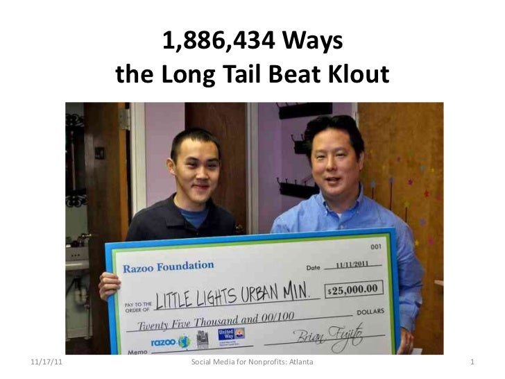 Geoff Livingston: 1,886,434 Ways the Long Tail Beat Klout