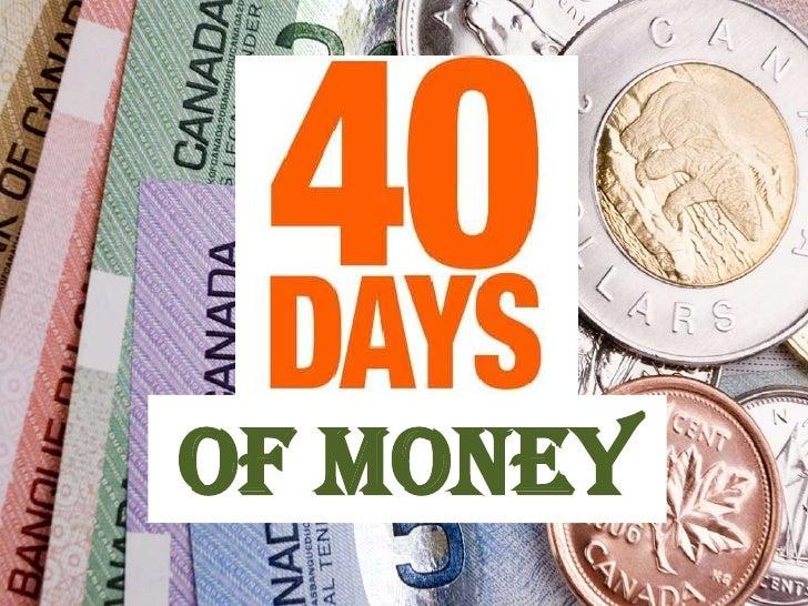 Of Money
