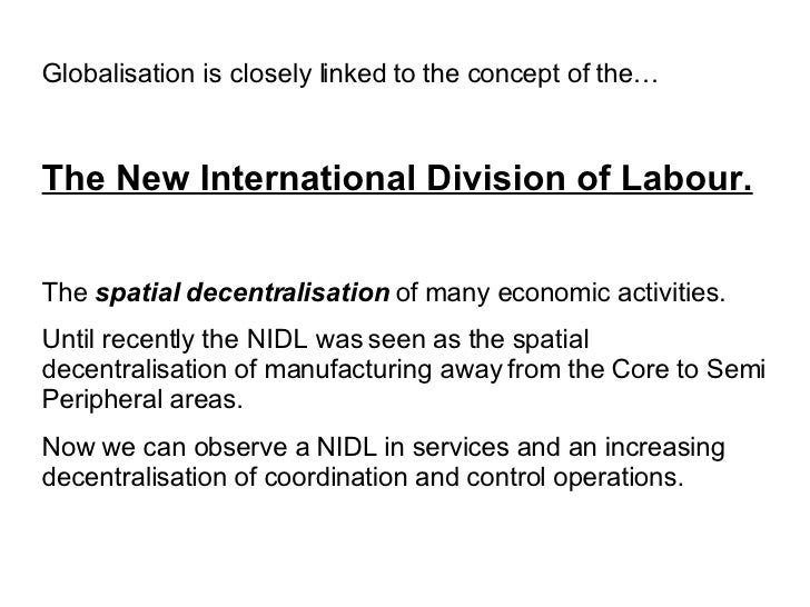 Division New The New International Division