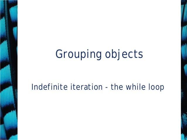 4 gouping object