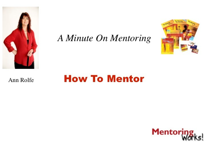 4. How To Mentor