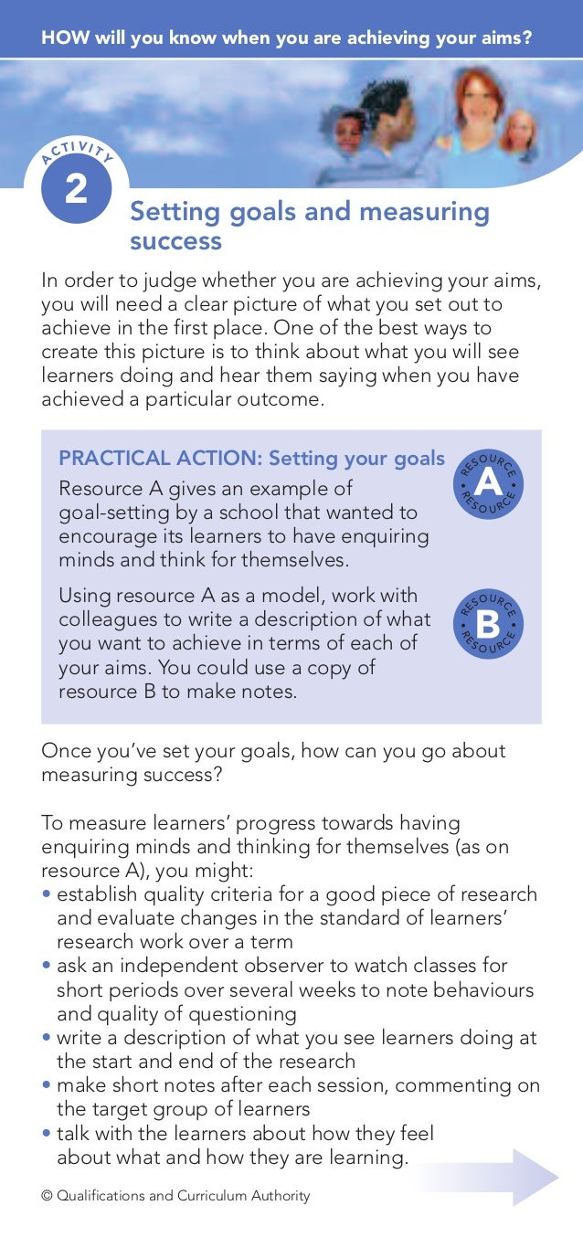 4. how will you know when you are achieving your aims co dev toolkit - activity bl.02