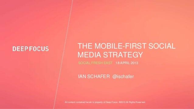 Social Fresh East 2013: Ian Schafer