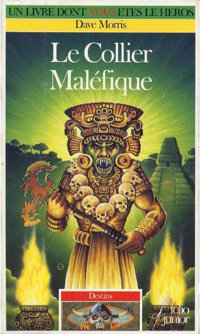 Titre original : Nccklace ofSkulls © Dave Morris et Mark Smith, 1993. pour le texte © Russ Nicholson, 1993, pour les illus...