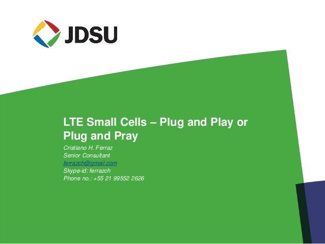 4 lte small cells – plug and play or plug and pray