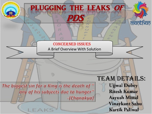 Team Details: Concerned issues A Brief Overview With Solution