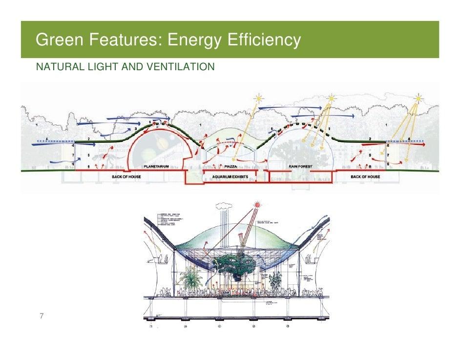 Scott moran california academy of sciences greening of for Piccoli piani energetici efficienti