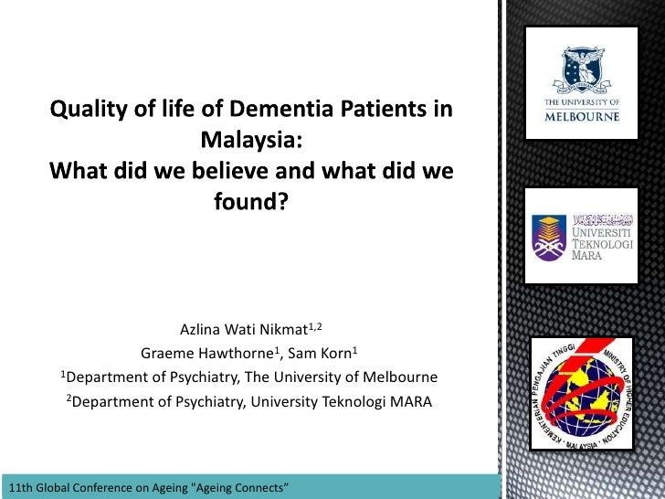 4 nikmat-qol of dementia patients in malaysia 09052012