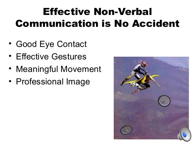thesis on non verbal communication