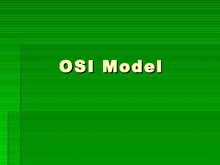 4.osi model