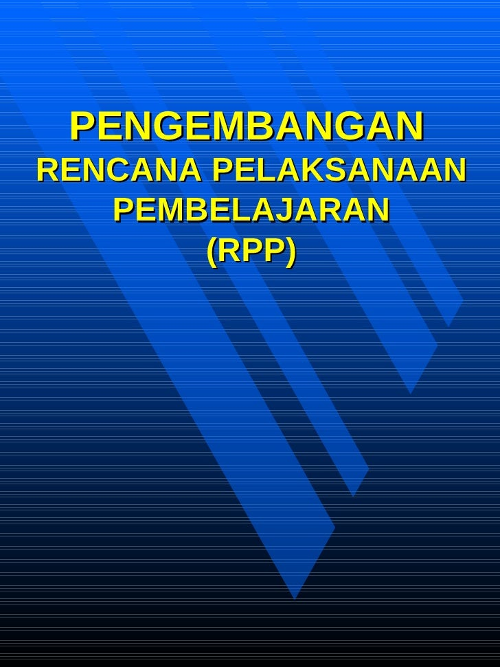 4. Pengembangan Rpp