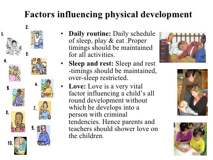 explain the factors that influene childrens What is social emotional health  factors that influence children's social and  emotional development many factors may affect the way children express their  social skills or emotional competencies or the rate at which children acquire.