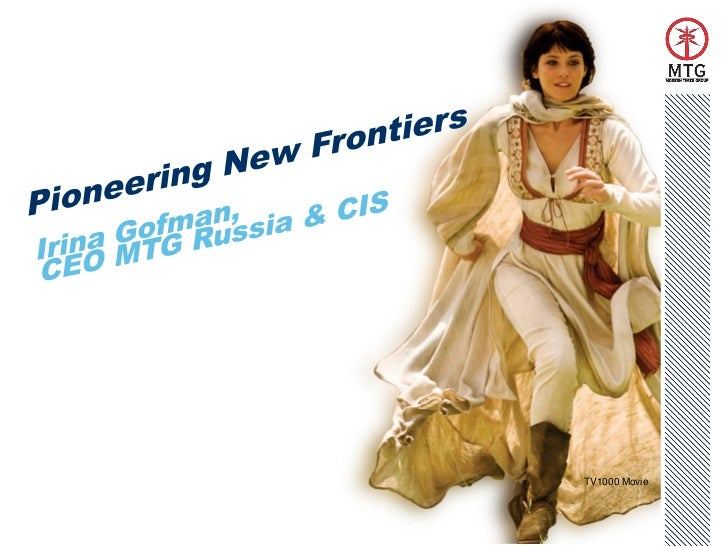 Pioneering New Frontiers –Capital Markets Day 2011
