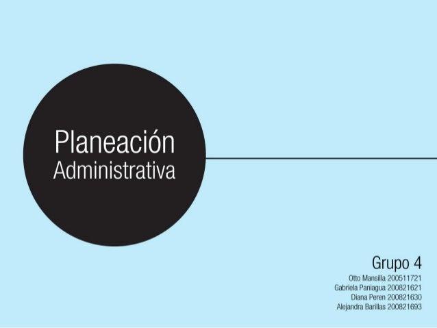 Antes de iniciar cualquier acción administrativa, es imprescindible determinar los resultados que pretende alcanzar el gru...