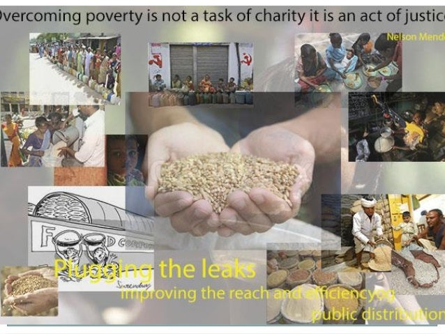WHAT IS PDS? ● Public Distribution System (PDS) is a poverty alleviation programme which contributes towards the social we...