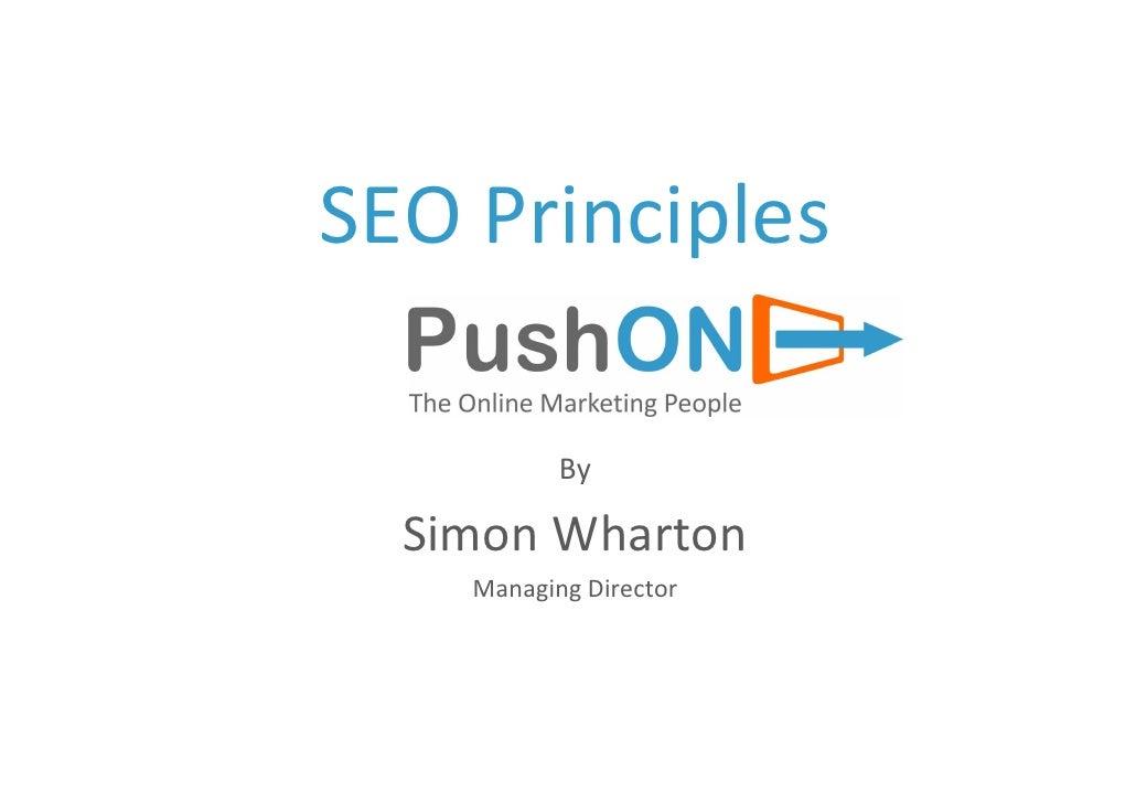 4. Search Engine Optimisation
