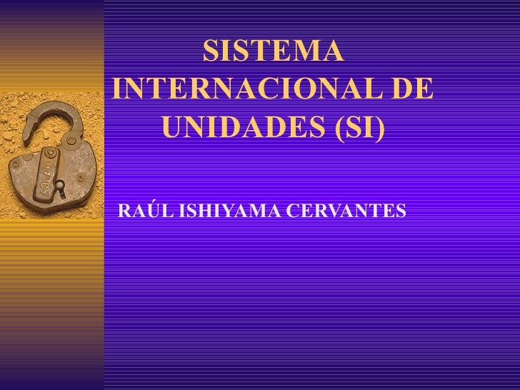 4. sistemas internacional de unidades