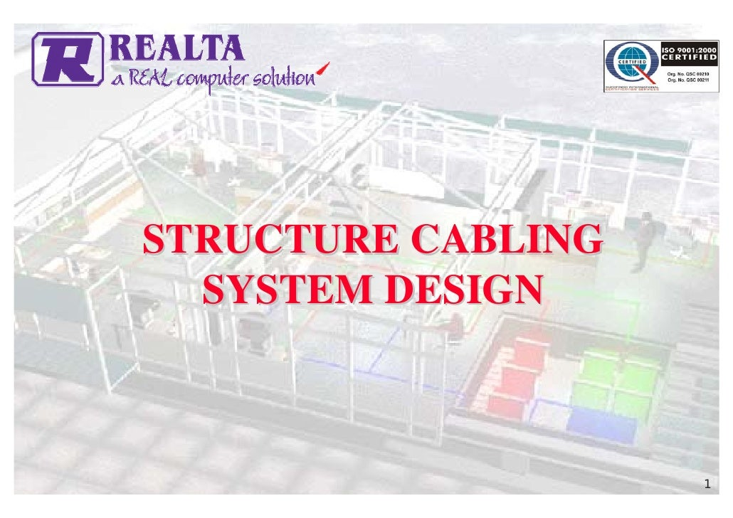 STRUCTURE CABLING   SYSTEM DESIGN                        1