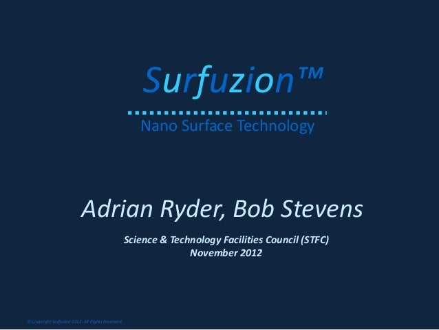 Surfuzion™                                                      Nano Surface Technology                           Adrian R...